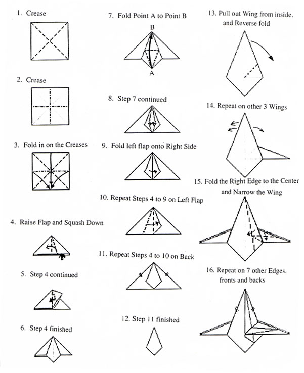 Simple Origami Eiffel Tower