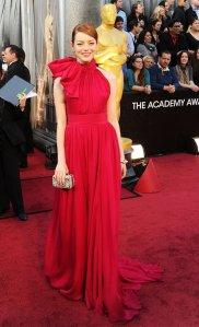 Emma Stone Oscars 2012