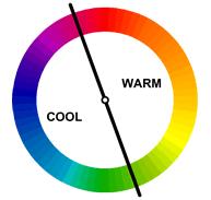 ცივი და თბილი ფერები