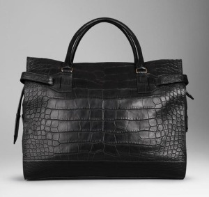 Burberry Large Alligator Holdall, $37,000 via Burberry