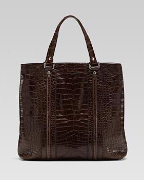 Gucci Crocodile Tote, $29,900 via Gucci