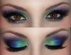 eye make-up.თვალის მაკიაჟი