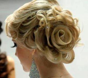 სადღესასწაულო ვარცხნილობა/hairstyle