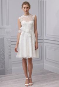Monique Lhuillier საქორწინო კაბა