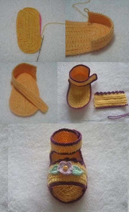 knitting baby shoes (5)